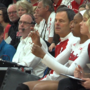 Huskers sweep Colorado State in front of a packed house at KHS