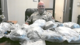 Whitfield traffic stop leads to 3 arrests, $125K worth of marijuana seized