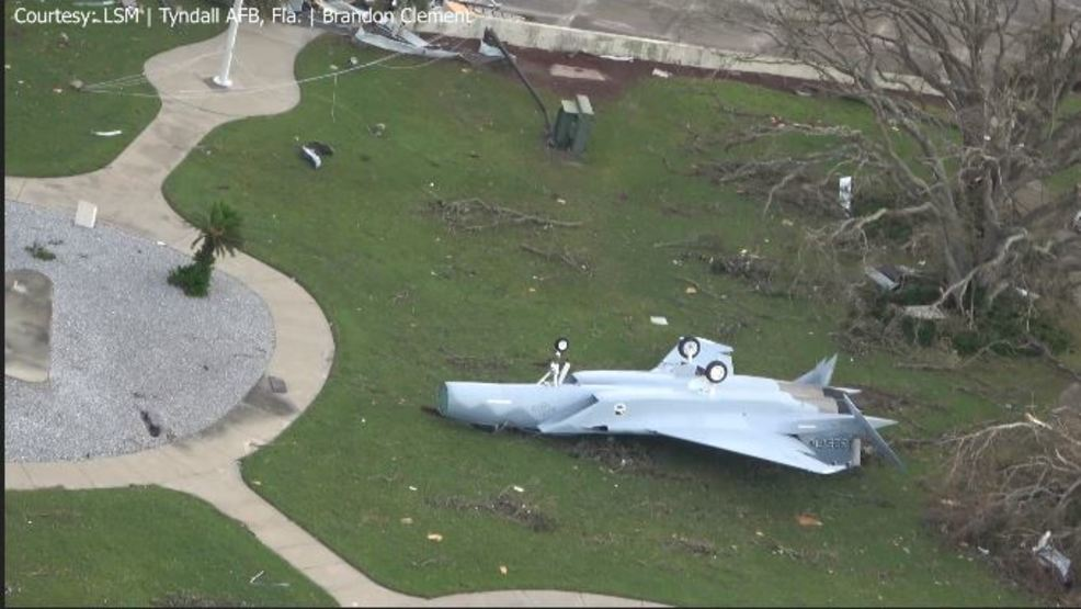 Hurricane Michael Causes Major Damage At Tyndall Afb Wpec