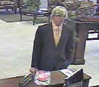 The FBI thinks this may be the same man who robbed the MidFirst bank on N. May Avenue in Oklahoma City on Halloween.