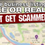 Fake map points on search engines lead you straight to scammers