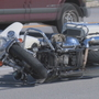TPD motorcycle officer involved in accident