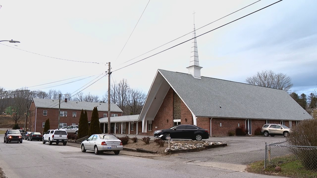 The Transylvania chapter of the NAACP is partnering with Blue Ridge Health and Bethel A Baptist Church, a predominantly Black church, for what it hopes will be the first COVID-19 vaccine clinic of several, Monday, Jan. 25, in Brevard. The church is hosting the clinic. (Photo credit: WLOS Staff)