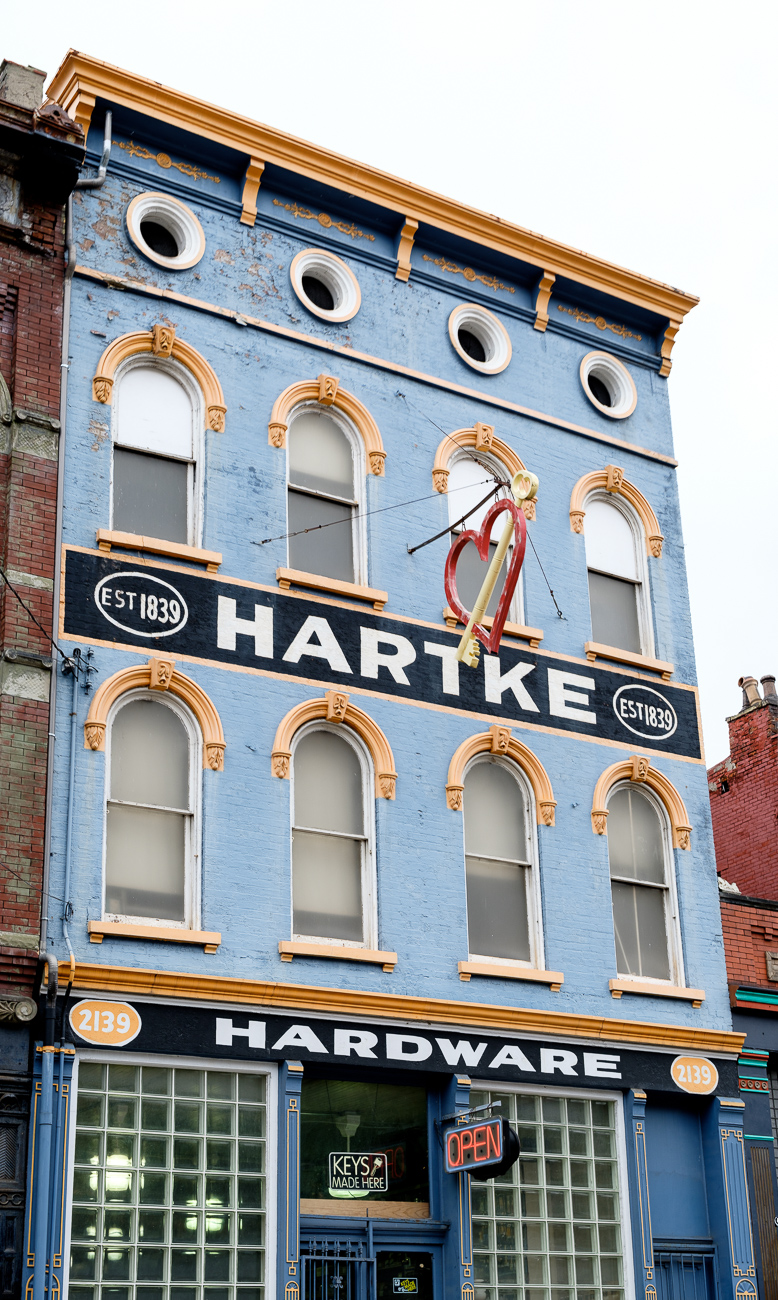 SIGN: Hartke Hardware / ADDRESS: 2139 Central Avenue, Cincinnati, OH 45214 // Image: Daniel Smyth // Published: 2.18.17
