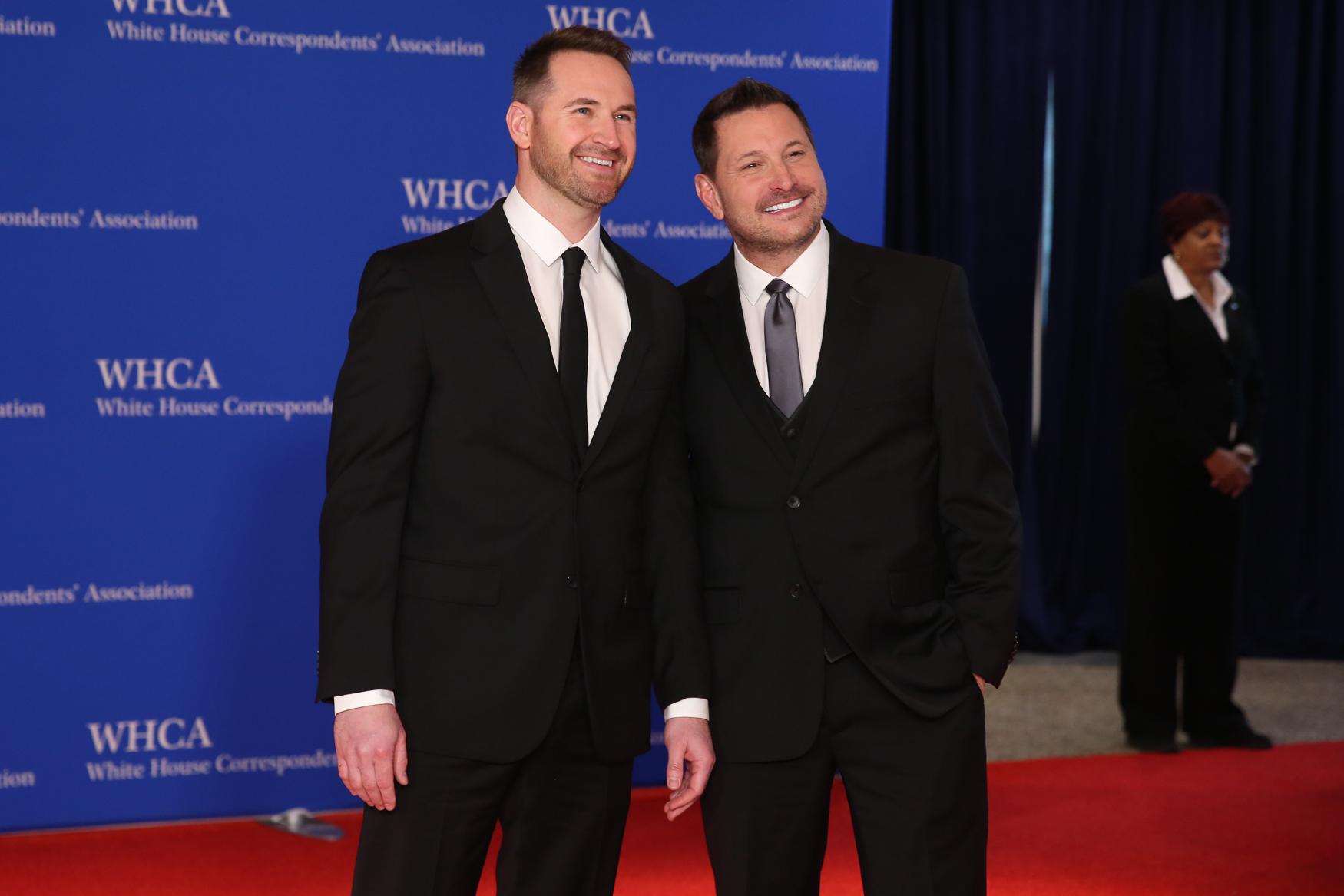 Ty Herndon with his partner{ }Matt Collum. (Amanda Andrade-Rhoades/DC Refined)