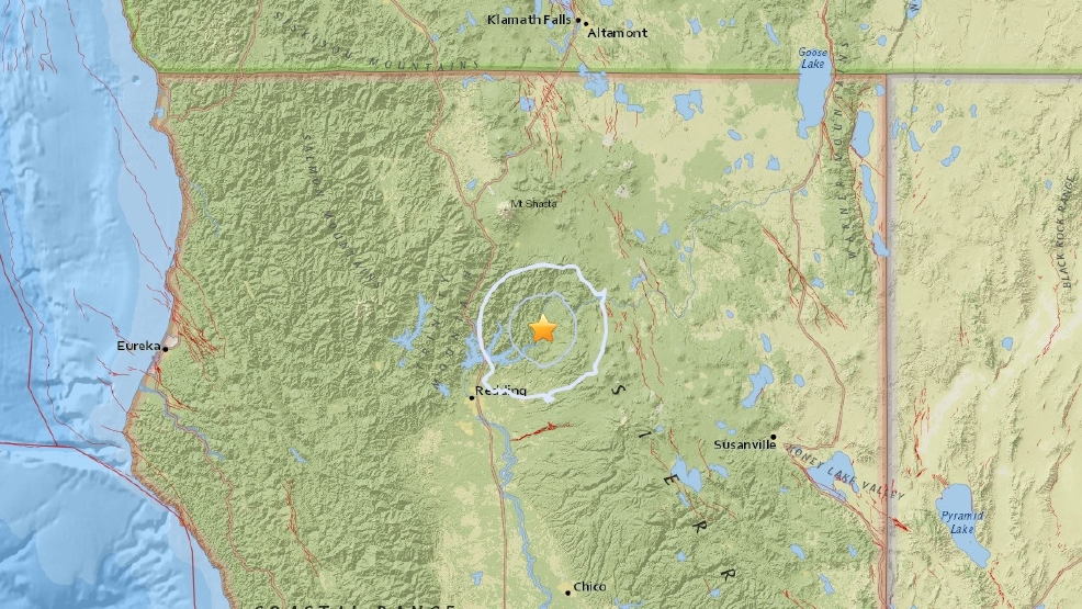 Small earthquake rattles Shasta County | KRCR