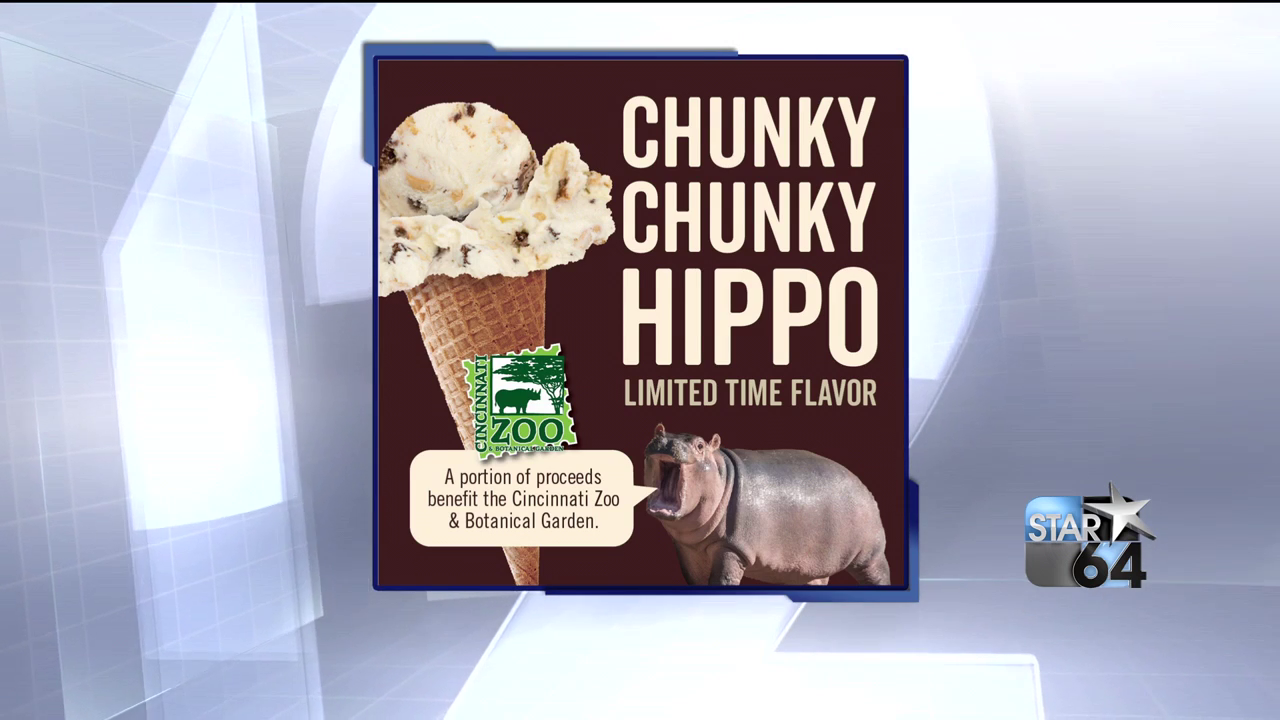 Graeter's just released their latest new flavor, and it's paying tribute to our favorite little hippo! (Cincinnati Zoo/Graeter's)