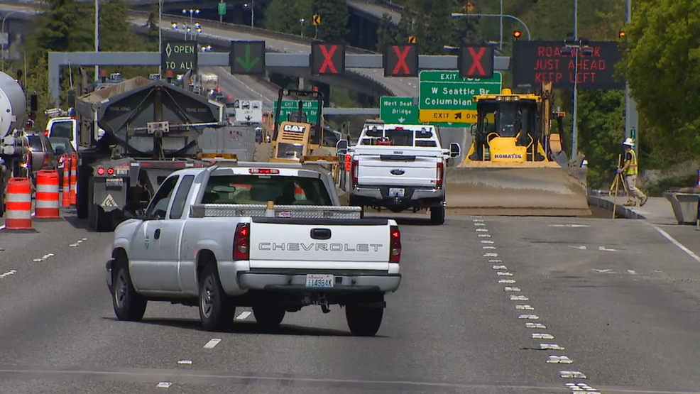 Weekend I-5 closure expected to spark traffic mayhem in
