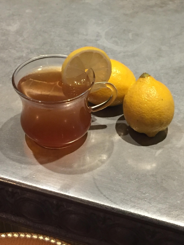 All those made-up food and drink holidays may be a marketing ploy, but Hot Toddy Day (January 11) can't come at a more fitting time. The holidays are over, and the long, cold, depressing winter looms before us. D.C. bartenders are turning up the heat with boozy beverages tricked out with citrus juices, teas, infused spirits, honey and spices that are perfect après-ski or after work. Grab a mug and get steeped! (Image: Courtesy The Riggsby)