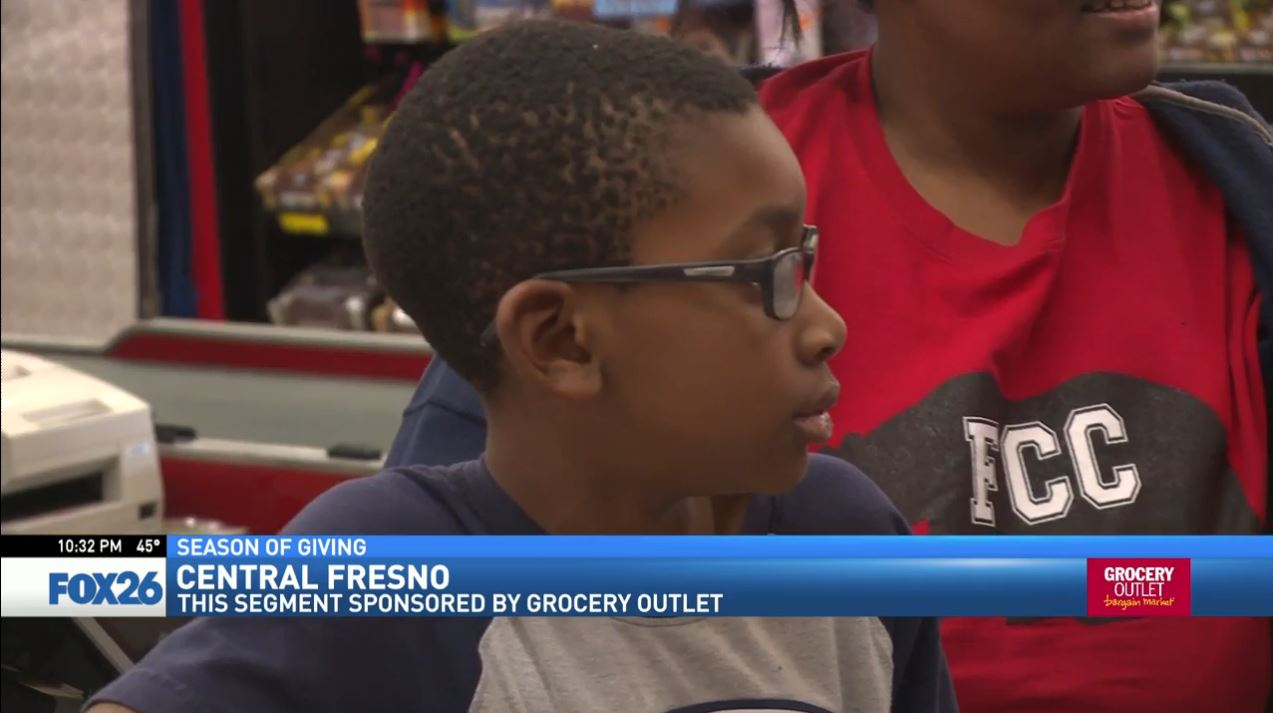 Watch what happened when FOX26 News reporter Liz Gonzalez surprised a woman shopping at the Grocery Outlet in Central Fresno.