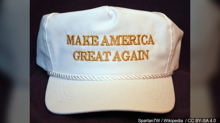 Make America Great Again hat. (Photo: MGN)