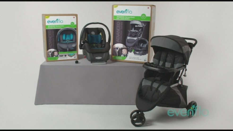 Available Friday New Car Seat Sounds Alarm If Child Left Inside