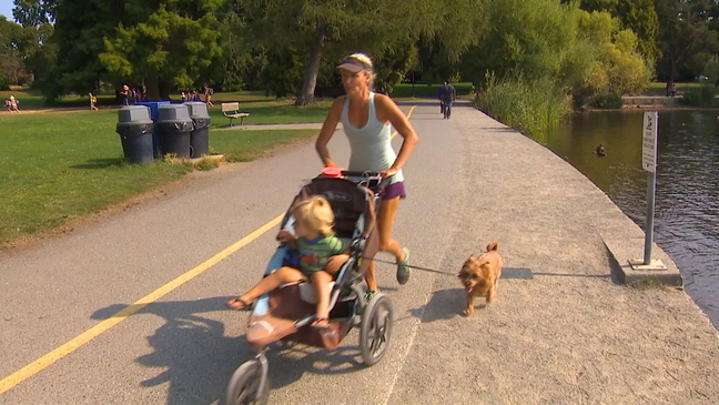 How to burn the most calories with a jogging stroller