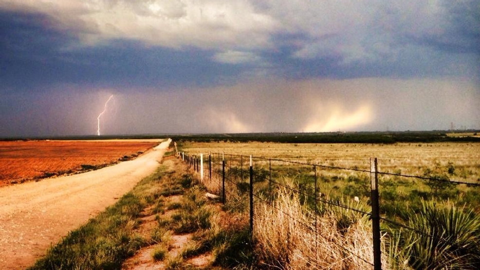 Showers Bring Nice Rainfall Totals To Big Country Concho