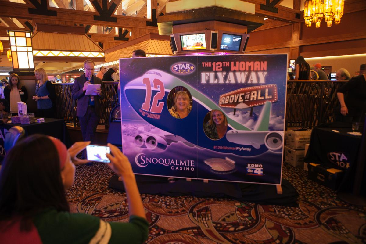 Happy Blue Friday! The Seattle Seahawks are ready and so is our 12th Woman! Check out our gallery from this week's 12th Woman Rally at Snoqualmie Casino. We're looking for more women who represent the spirit of the 12th Woman - click here if that's you! (Image: Joshua Lewis / Seattle Refined)