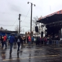 Crowds brave the rain for day three of Treefort