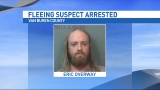 Holland man arrested after running from the deputies