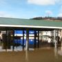 Flooding leaves Rayland Marina underwater