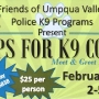 Hops for K9 Cops event takes place Sunday in Roseburg