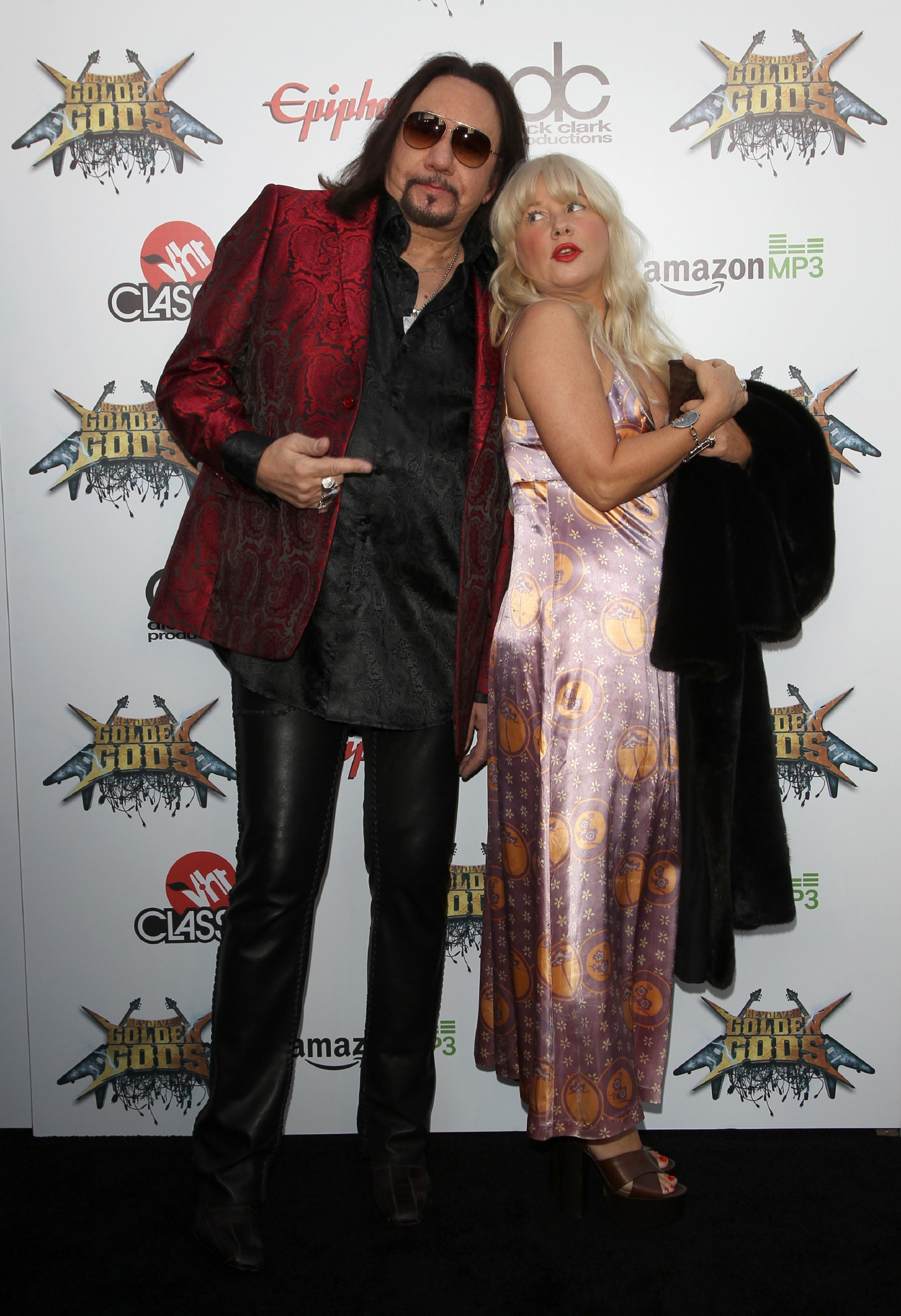 2014 Revolver Golden Gods Award Show  Featuring: Ace Frehley,Guest Where: Los Angeles, California, United States When: 23 Apr 2014 Credit: FayesVision/WENN.com
