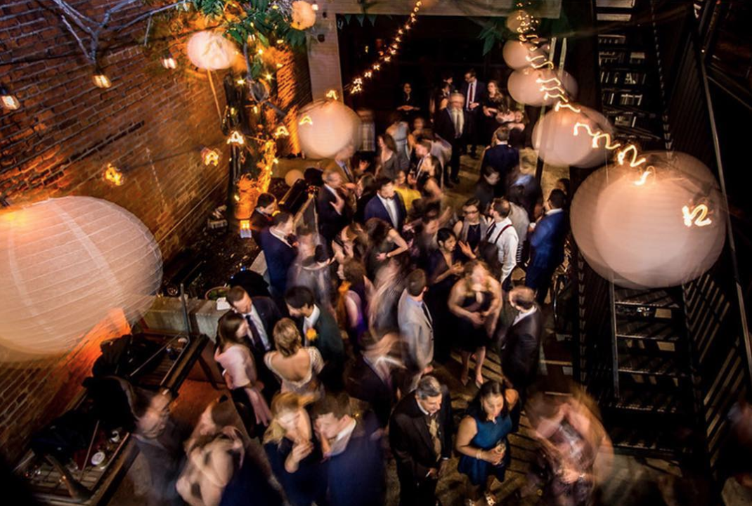 Did we mention it's a great place to party, whether you're getting fancy for the night or cutting loose at a dive bar? (Image via @thedceventplanner photo by @artfeltstudios)