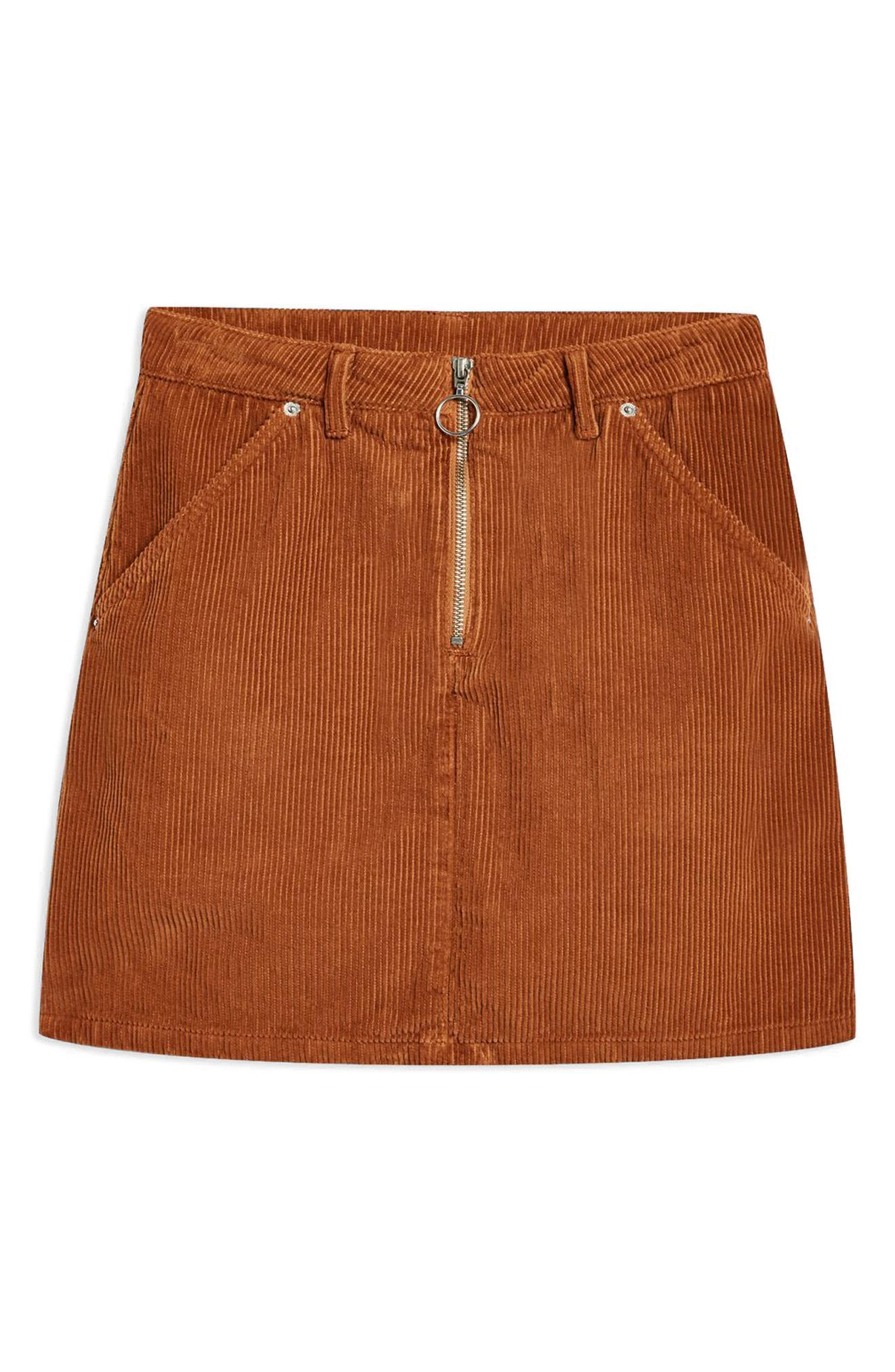 Topshop Corduroy Skirt -- Sale: $39.90 / After sale: $60{ }(Image: Courtesy Nordstrom)