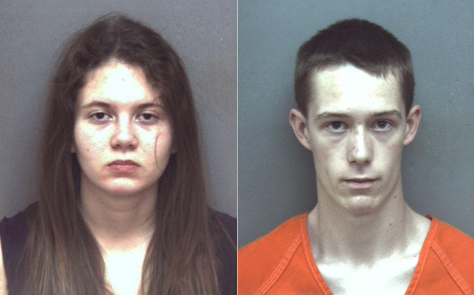 FROM LEFT TO RIGHT: A January 2016, file photo provided by Blacksburg Police Department shows Virginia Tech student Natalie Keepers / An undated file photo provided by the Blacksburg Police Department shows Virginia Tech student David Eisenhauer (Blacksburg Police Department via AP, File) (Blacksburg Police Department via AP, File)
