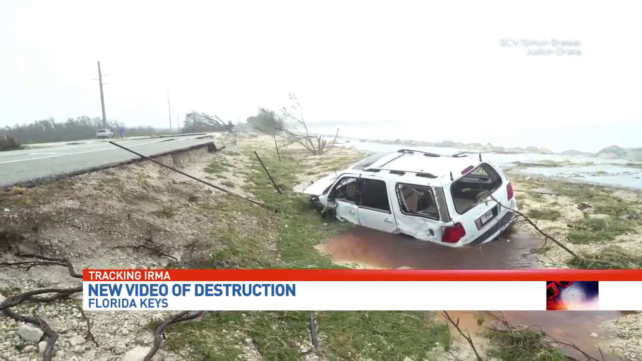 Daylight reveals devastation in the Florida Keys (WPEC)