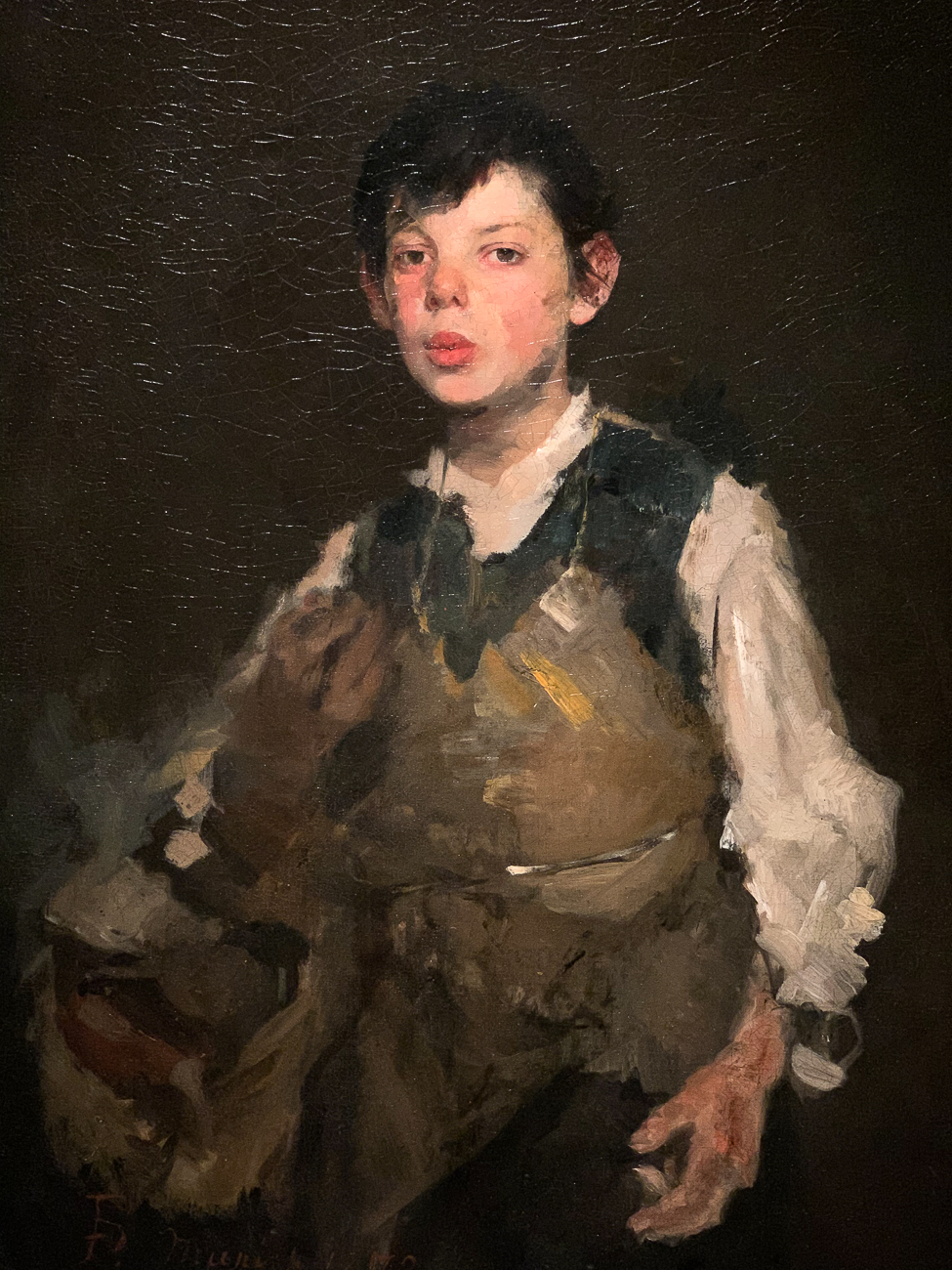 The Whistling Boy is one of the more well-known Duveneck works. / Image: Phil Armstrong, Cincinnati Refined // Published: 12.19.20