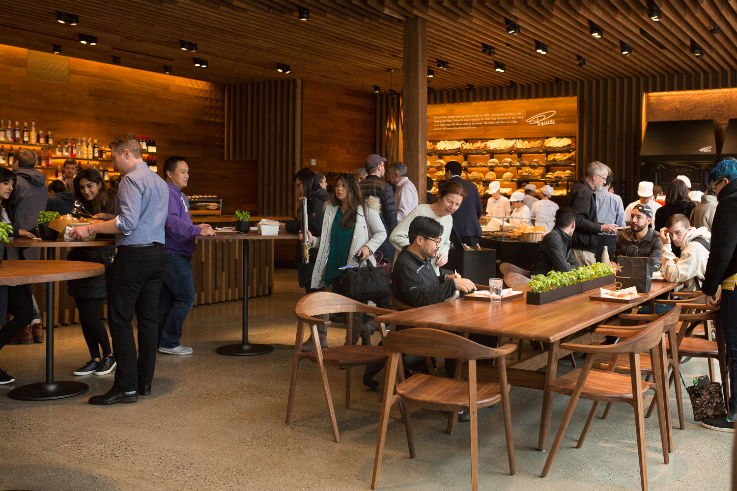 Princi opens at the Starbucks Reserve Roastery (Image: Paola Thomas / Seattle Refined){&amp;nbsp;}<p></p>