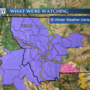 Wintry mix of rain and snow, advisories posted