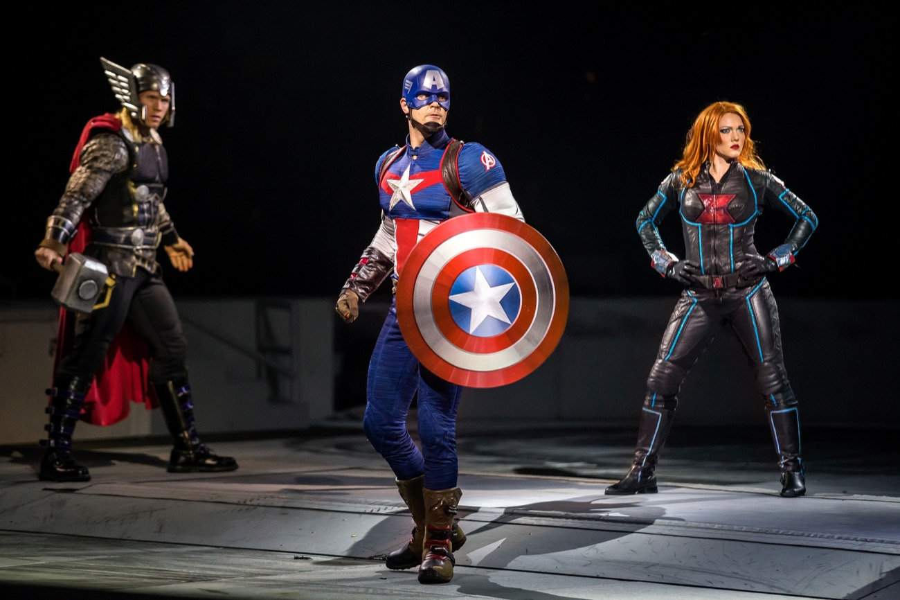 Marvel Universe LIVE! takes us on a rollicking trek through Marvel canon. On the way, you'll see cutting-edge special effects, aerial maneuvers, pyrotechnics, martial arts, motorcycle stunts, and vast 3D projection mapping. It's an immersive adventure, at times even more thrilling than what you'll find on the silver screen. Seven performances span September 20-23. ADDRESS: U.S. Bank Arena, 100 Broadway Street (45202) / Image courtesy of Feld Entertainment // Published: 9.6.18