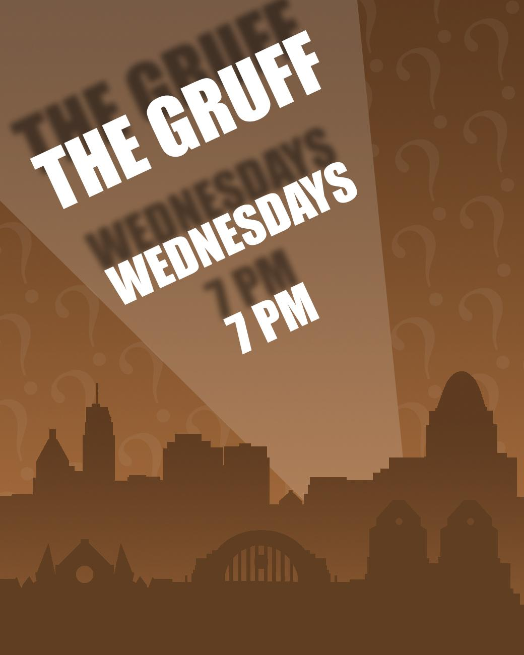 The Gruff has trivia every Wednesday starting at 7 PM. ADDRESS: 129 E. 2nd Street (41011) / Image: Phil Armstrong, Cincinnati Refined // Published: 8.30.17