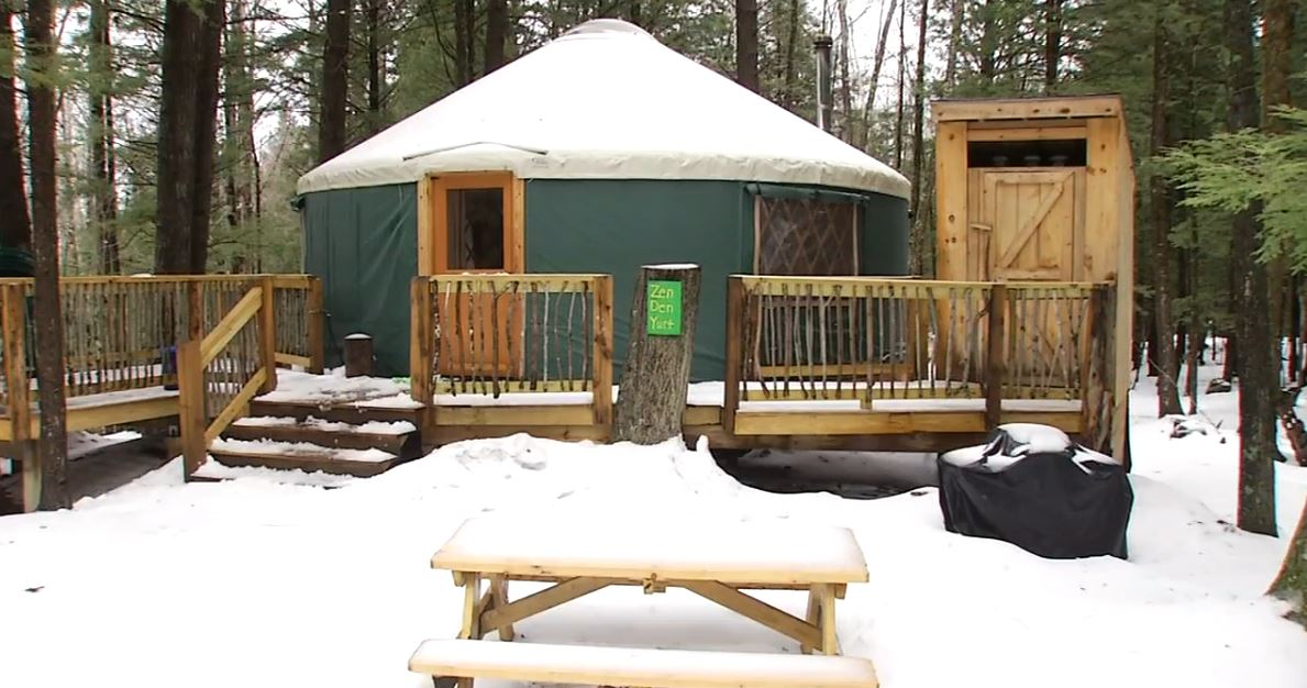 For the past four winter seasons, Maine Forest Yurts in Durham has capitalized on the love of the outdoors despite the cold. (WGME)