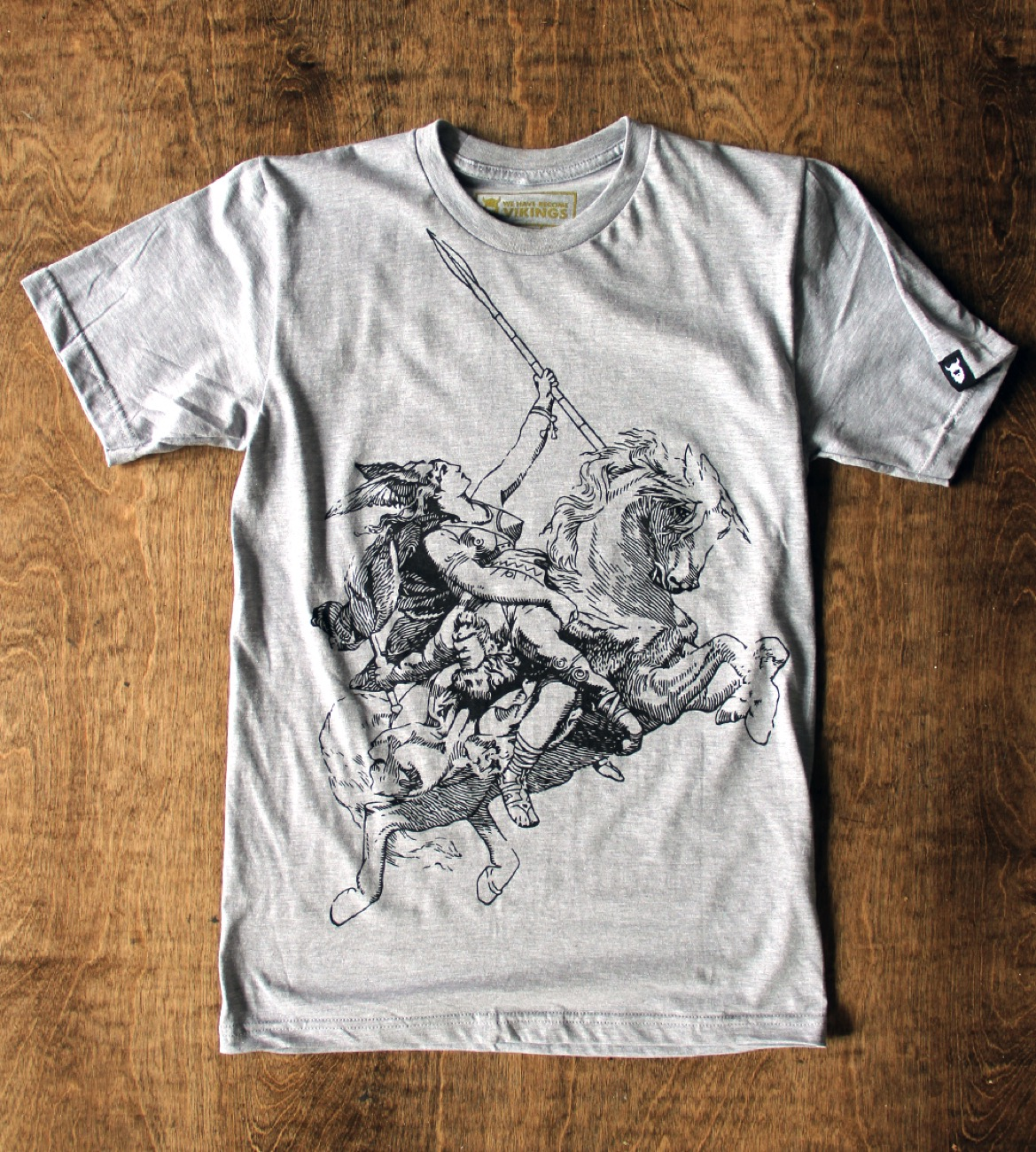 Valkyrie tee / Image courtesy of We Have Become Vikings