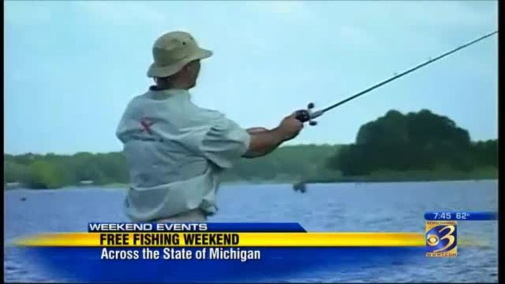 Michigan officials to offer free fishing weekend in june for Michigan fishing license cost