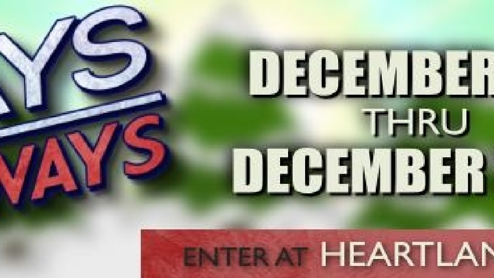 Ktvo 12 days of giveaways
