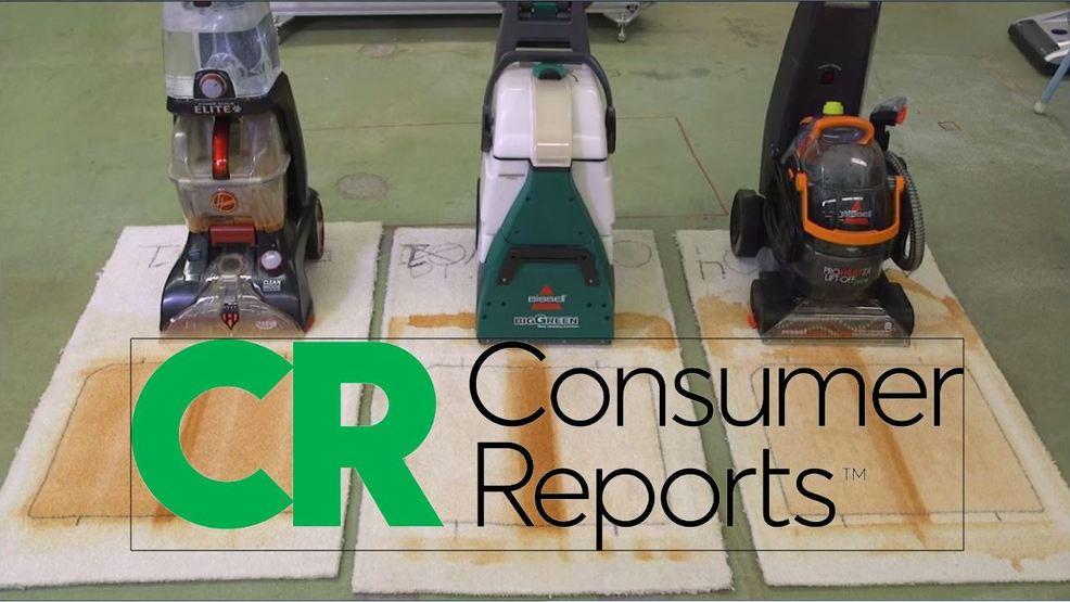 Consumer Reports: Carpet cleaner