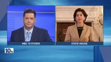 Raimondo defends taxpayer-funded meteorologists, 911 troubled system