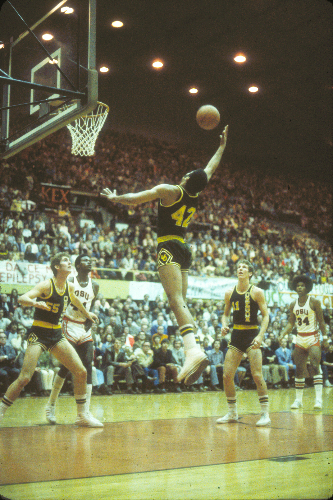 Greg Balalrd Member of Oregon s Kamikaze Kids basketball team