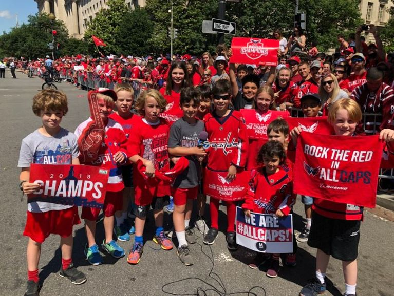 Capitals' Stanley Cup victory parade taking over D.C. (Photo: Victoria Sanchez)