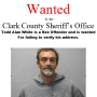 Clark Co. Sheriff's Office looking for registered sex offender