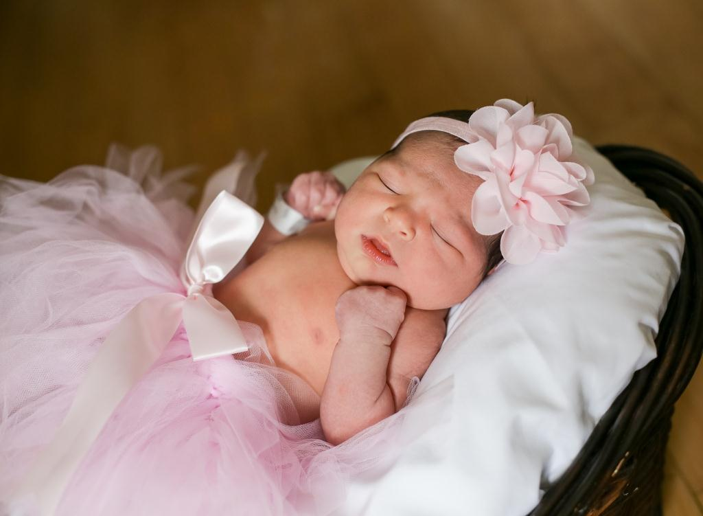 Mila, our Baby of the Day for March 1, 2016. Photo courtesy of Palms West Hospital and Bella Baby Photography