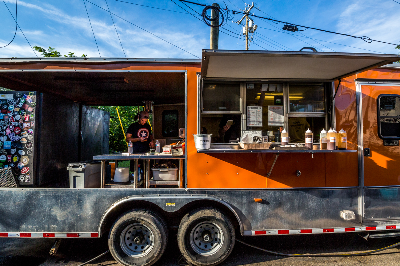 The Beerded Pig food truck / Image: Catherine Viox // Published: 7.19.19