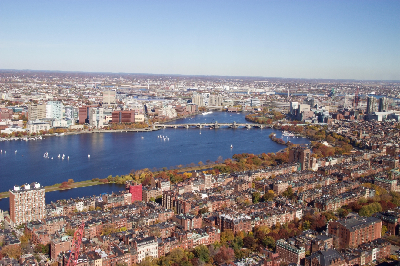 Boston is beautiful when viewed from street level, but when you climb 50 floors, it's downright breathtaking. The Skywalk offers a panoramic view of the city, and on clear days, you can see for up to 100 miles. (Image: Lani Furbank)