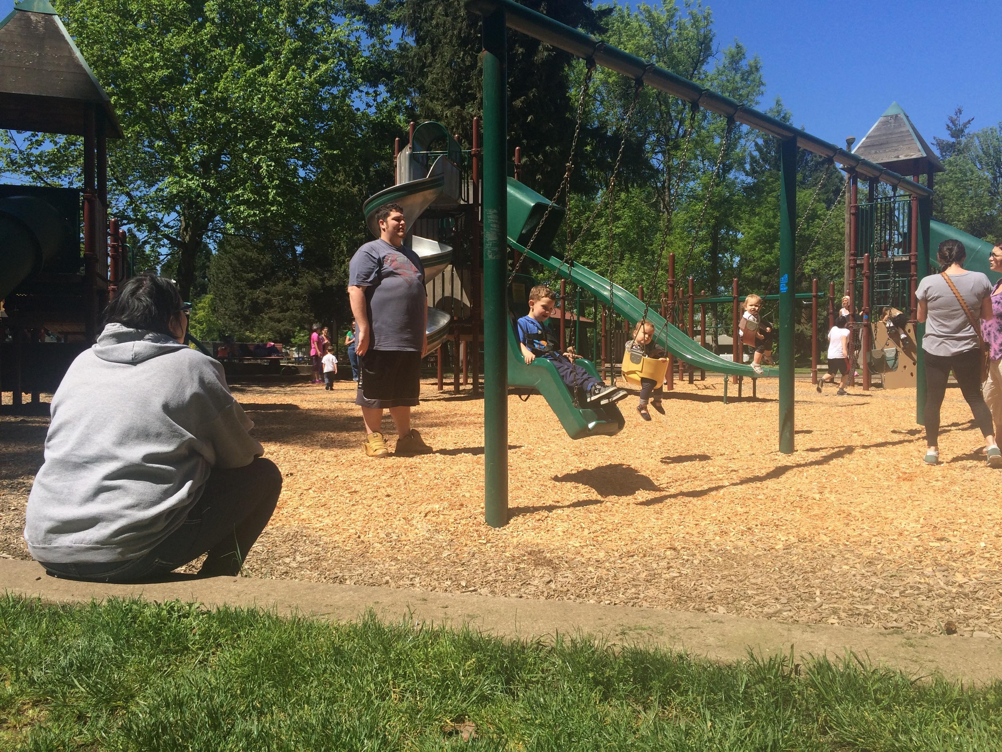 As the weather warms up and kids head to parks and pools, police warn parents to teach their kids ways to stay safe and away from strangers. (SBG photo)