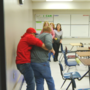 Linn-Mar parents take part in active shooter drill