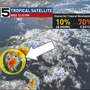 Tropical threat for the holiday weekend