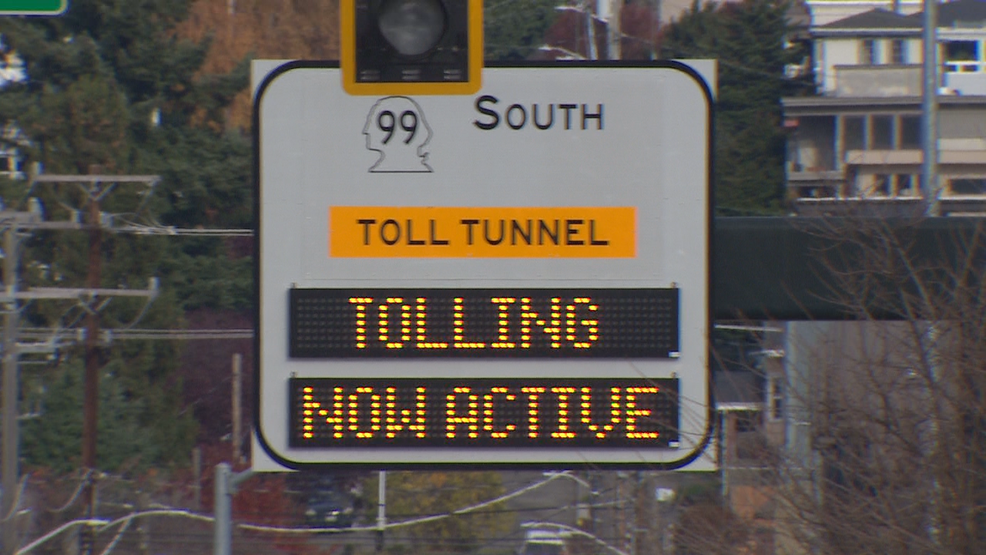 Commuters describe 'horrendous' Tuesday morning under new SR99 tunnel tolls
