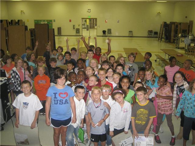 Red Bank Elementary Fourth Graders
